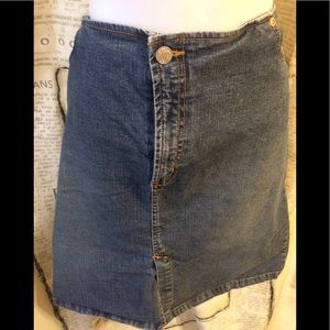 EUC-Old Navy Denim Skirt-20